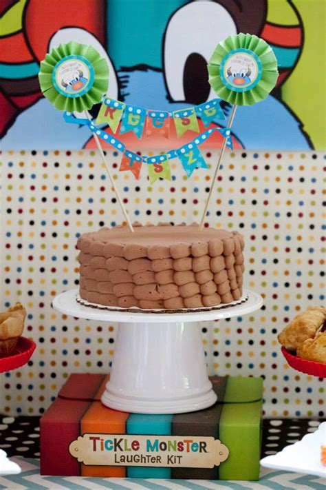 karas party ideas tickle monster  birthday party