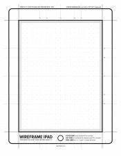 Wireframe iPad / iPad Mini Download PDF Template ...