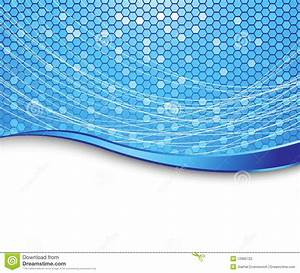 Blue High-tech Background - Cells Stock Photography ...