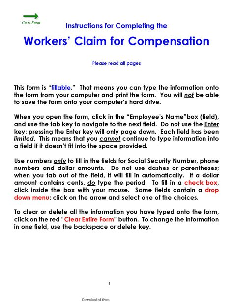 Get free insurance quotes online or find thank you mark!! Colorado Workers Claim For Compensation Form - PDF Format | e-database.org