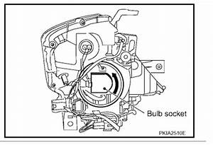 Replace Murano Headlight Bulb  2005  How To Replace A