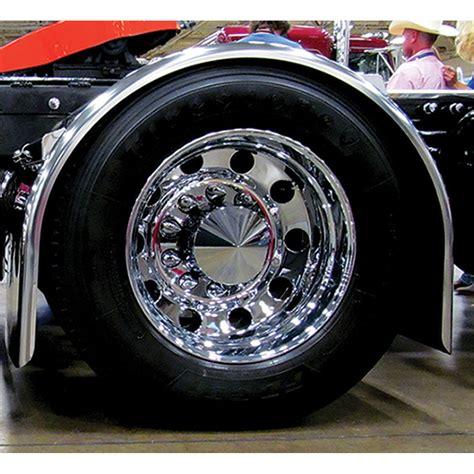 heavy duty super long single axle fenders  ga