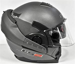 Casque De Moto : casque moto modulable ls2 ff393 convert titanium mat ~ Medecine-chirurgie-esthetiques.com Avis de Voitures
