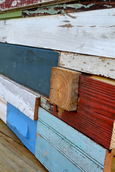 diy reclaimed wood wall art tutorial crafts pinterest