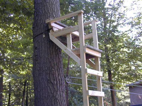 wooden ladder tree stands plans portal   land pinterest ladder tree stands