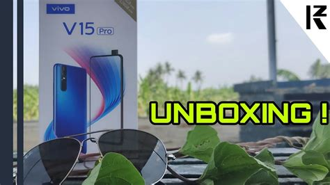 vivo  pro unboxing  full review  tamil kzim tech