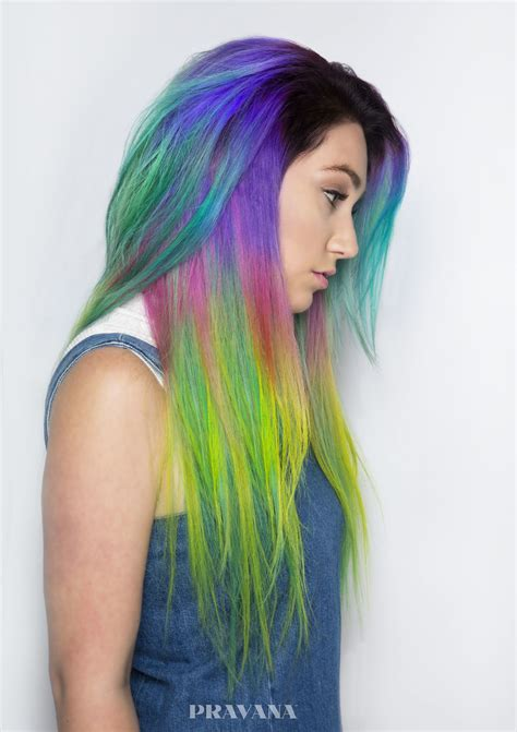 Gorgeous Rainbow Hair Color Ideas You Havent Seen Yet