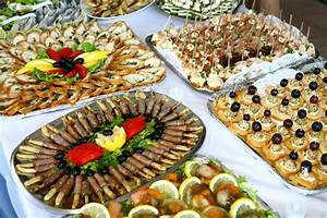 Finger Food Table Decorations Photograph | Christmas Party F