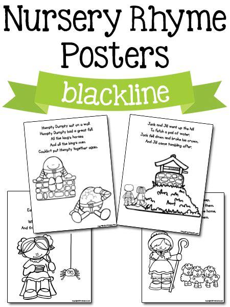 Preschool Nursery Rhyme Printables
