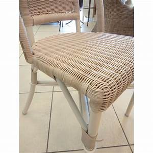 Chaise En Resine : chaise en r sine et aluminium sp cial ext rieur coloris dune ~ Teatrodelosmanantiales.com Idées de Décoration