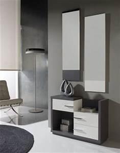 meuble d39entree contemporain avec miroir degas coloris With nice meuble entree avec miroir 0 meuble dentree design miroir concept