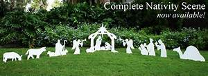 outdoor nativity scene silhouette plans » plansdownload