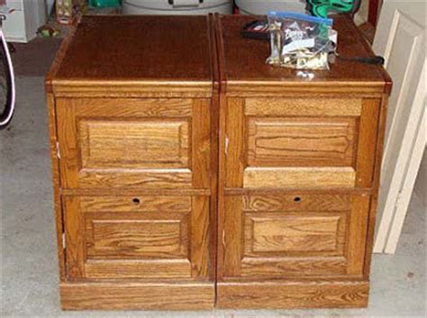 diy wood file cabinet  woodworking