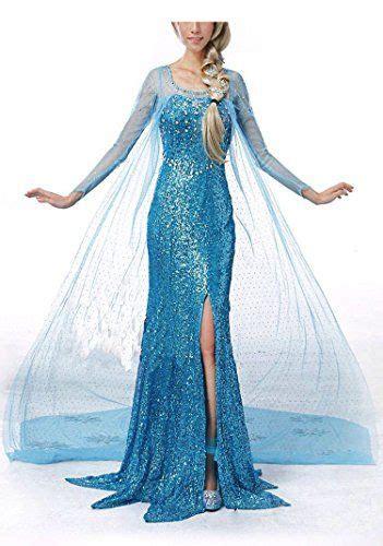und elsa kostüm damen damen elsa frozen kost 252 m zu karneval fasching ca 24 disney kost 252 m