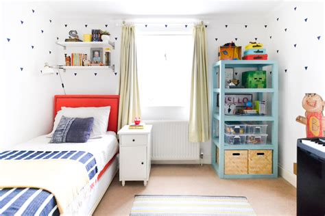 boy bedroom ideas small rooms a graphic light box and a mid century dresser turning the 18375