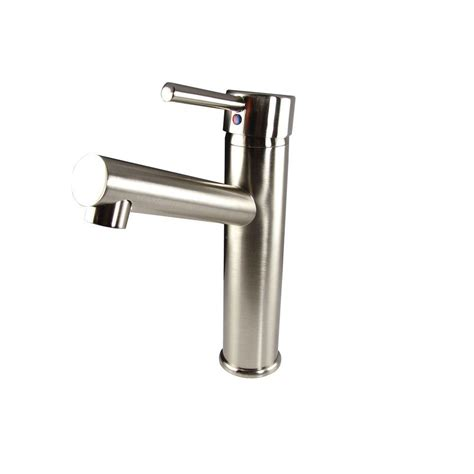 fresca savio single hole 1 handle mid arc bathroom faucet