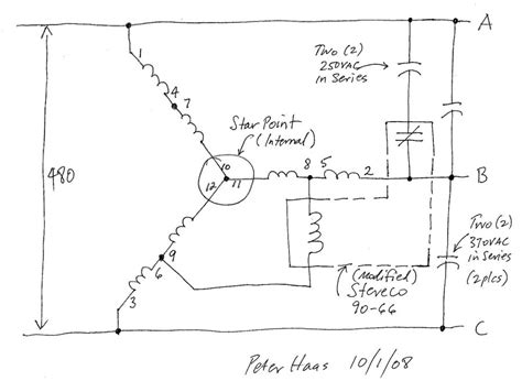 460 Volt Motor Wiring Diagram by 440 220 Volt Motor Wiring Diagram Camizu Org