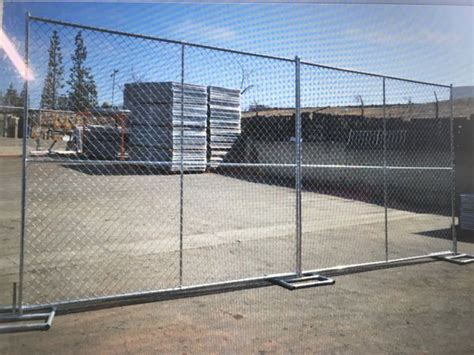 temporary chain link fence panels panel gate