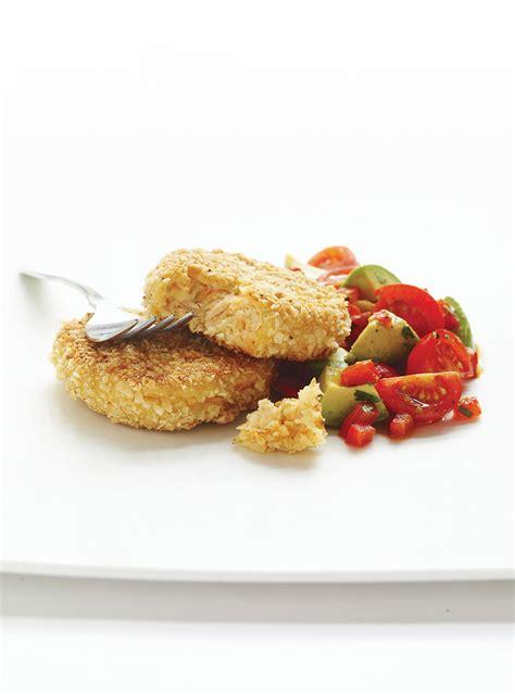 croquettes de saumon et salsa ricardo
