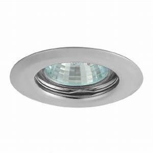 Spot Encastrable Chrome Fidji K 321 : Ampoule led, spot, led GU10 Bricospot