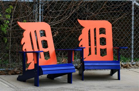 detroit tigers adirondack chair by wileyconcepts on etsy