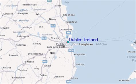 dublin ireland tide station location guide