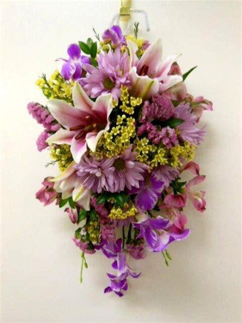 wall flower arrangements interior floral decor by wall mounted arrangements 3309