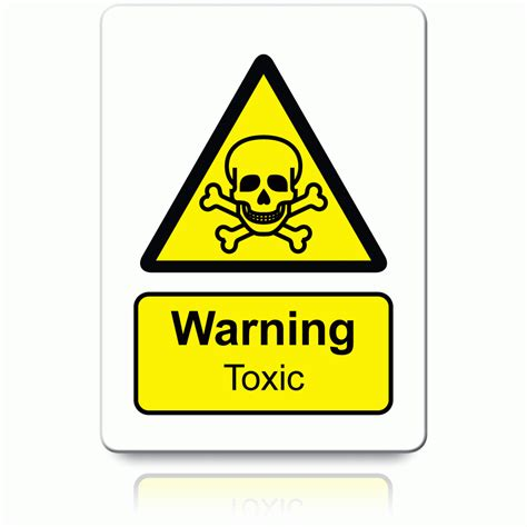 Safety Labels by Buy Warning Toxic Labels Danger Warning Stickers