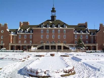 Snow Union Oklahoma Student University State Police