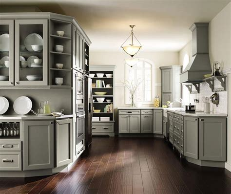 gray cabinet kitchens gray kitchen cabinets homecrest cabinetry 1313