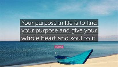 Purpose Buddha Quote Give Heart Soul Portrait