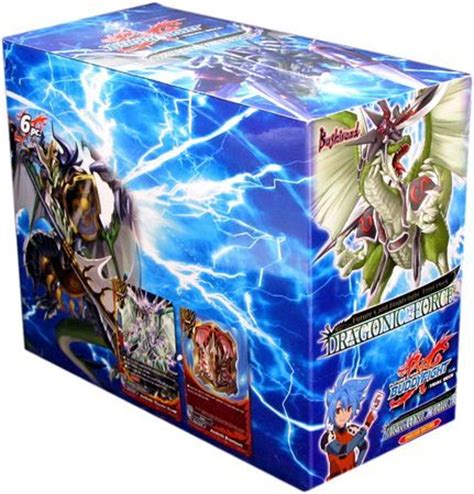 Buddyfight Trial Deck X by Trial Deck 3 Dragonic Starter Box Of 6 Decks