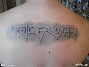 pin stone lettering tattoos on pinterest With stone tattoo letters