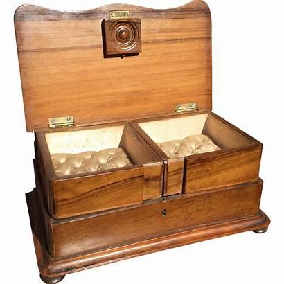 Jewelry Antique Victorian Casket Box Ruby Antiques