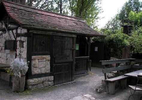 gartenhaus alter ger 228 teschuppen aus stein und holzbau
