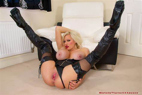 Underwear Driver Socks Latex Masturbates Clean Michelle Thorne Puts A Toys Stretched