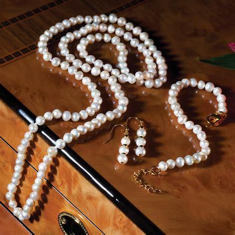 Mitsuko Organic Cultured Pearl Set 24559 Stauercom