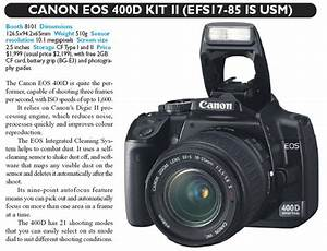 Canon EOS 400D Kit II Digital Camera IT SHOW 2008 Price ...