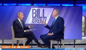 "Author Bill O'Reilly spars with NBC ""Today"" host Matt ..."