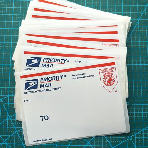 shipping pcspcs red map usps priority mail
