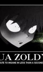 Killua Zoldyck, Demotivational Poster - Zerochan Anime ...