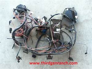82-89 Camaro Dash Wiring Harness