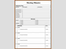 Meeting template Authorization Letter Pdf