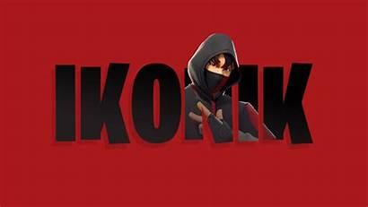 Ikonik Skin Fortnite Release Banner Background Scenario
