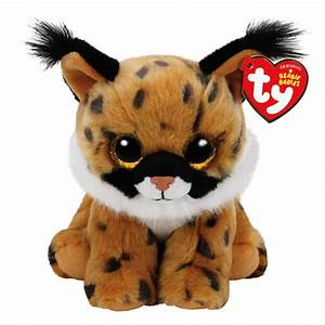 TY Beanie Baby Small Larry The Lynx Plush Toy Claire39s US