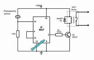 simple touch switch circuit using transistor 4017 555 ic With led 1 connected to pin 2 led 2 to pin 3 led 3 to pin 4 the r1 r2 r3
