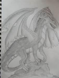 Drachen Schwarz Weiß : drache drache schwarz wei fantasie zeichnungen von pancat bei kunstnet ~ Orissabook.com Haus und Dekorationen