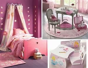 Deco Chambre Fille Princesse : d coration chambre petite fille princesse ~ Teatrodelosmanantiales.com Idées de Décoration