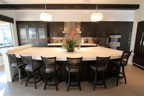 black kitchen island with seating big modern kitchen islands kitchen mesmerizing