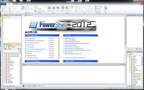 Shareware Powershell Studio At Download Collection.com